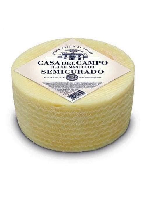 Semi Manchego D.O. CASA DE CAMPO