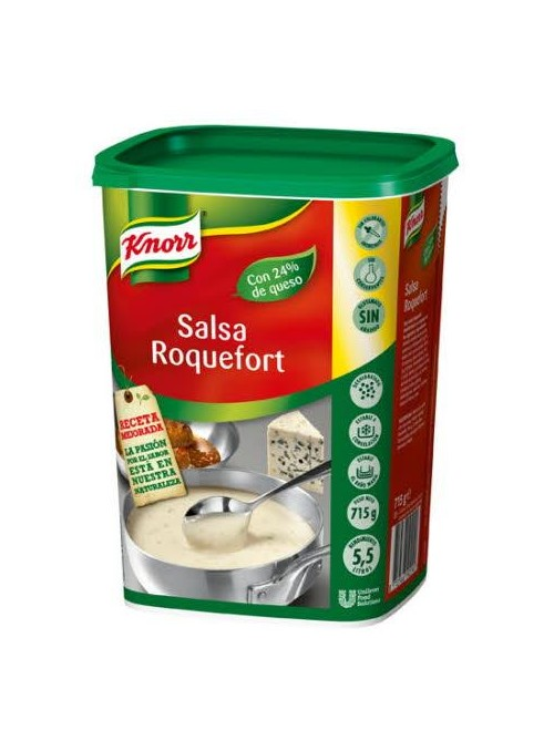 SALSA ROQUEFORT KNORR 715GR.