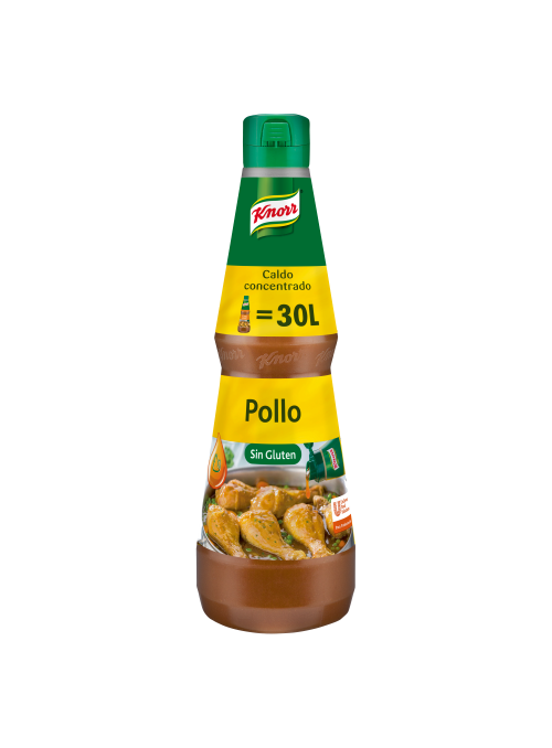 CALDO LIQUIDO CONCENTRADO POLLO KNORR 1L