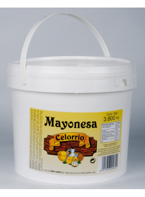 Mayonesa Cubo 3,600Ml CELORRIO