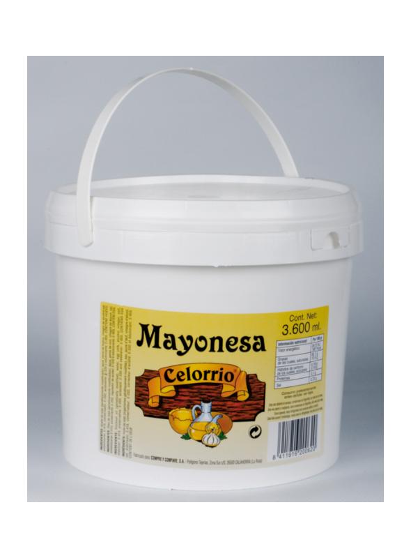 MAYONESA CUBO 4KGX4.CELORRIO
