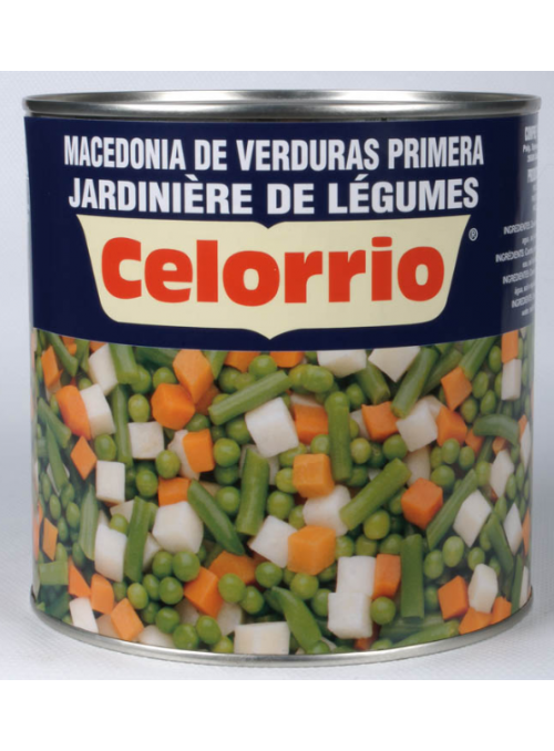Macedonia Verduras Lata 3Kg CELORRIO
