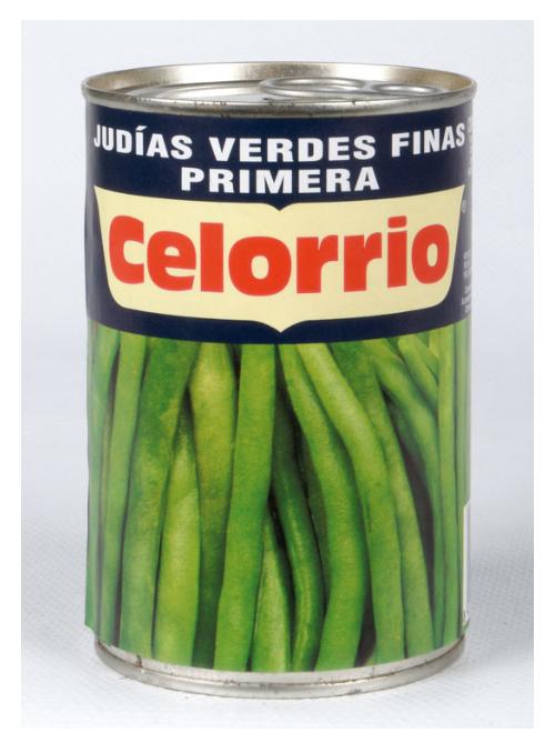 Judia Verde fina Lata 1/2Kg CELORRIO