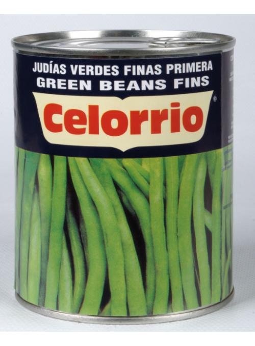 Judia Verde fina Lata 3Kg CELORRIO