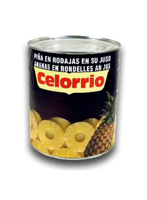 Piña en su Jugo Lata 3Kg CELORRIO