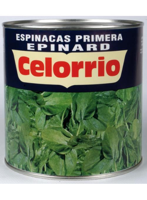 Espinacas Lata 3Kg CELORRIO