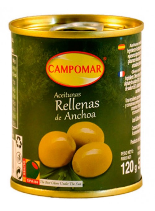 Aceituna Rellana Anchoa Mini Pack-3 CAMPOMAR