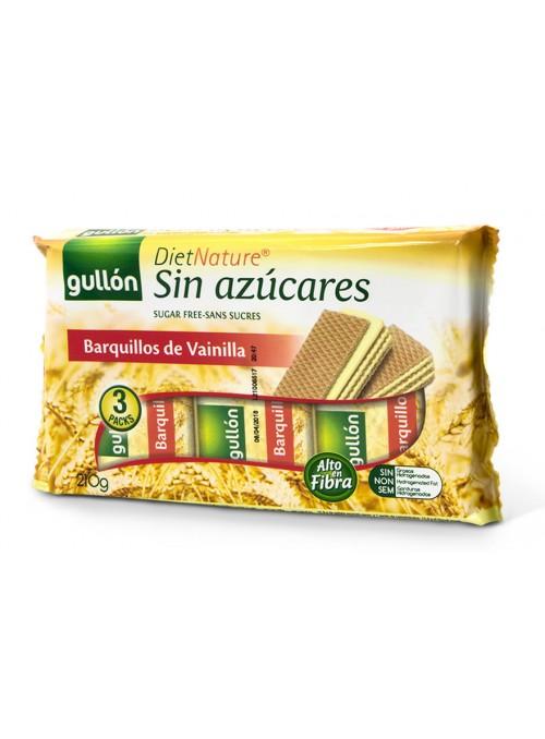 Barquillos Vainilla Diet Nature S/Azucar 210Gr GULLON