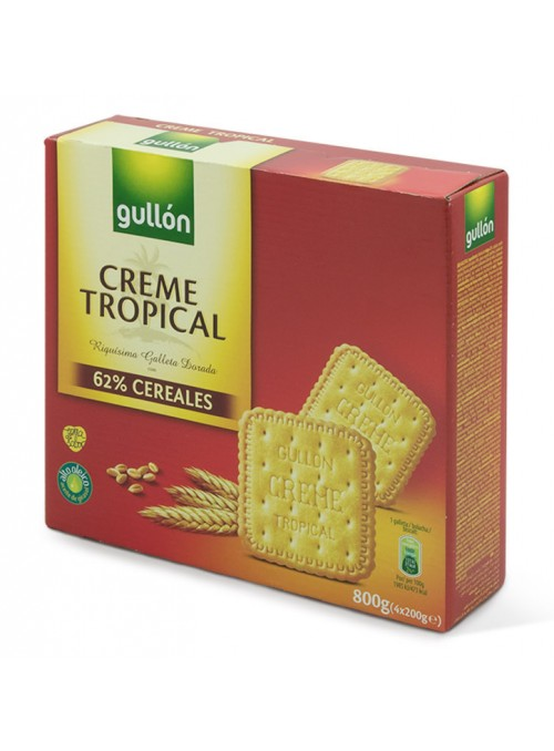 Creme Tropical 800Gr GULLON