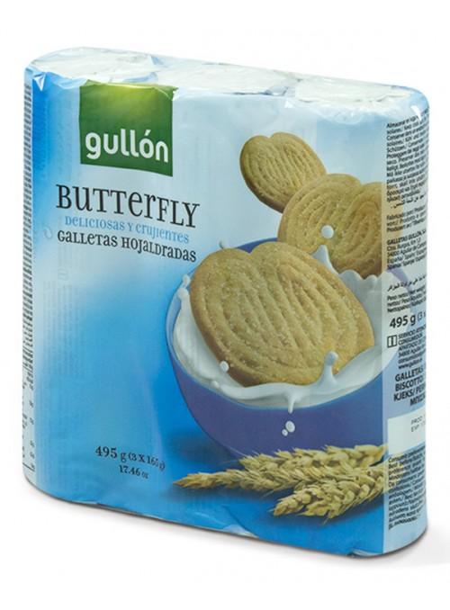 BUTTERFLY PACK-3 495GR.GULLON
