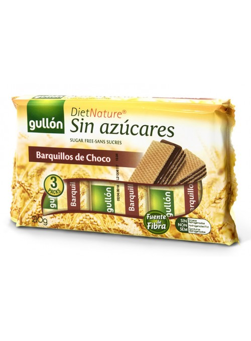 WAFER CHOCO DIET NATURE 210GR.