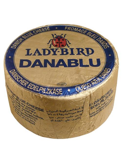 Queso Azul Rueda DANABLU LADYBIRD