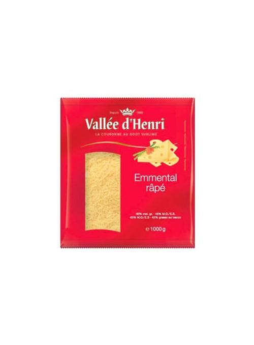 EMMENTAL RALLADO VALLE D'HENRI 1 kg.