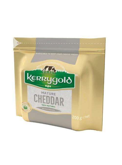 Cheddar Blanco Curado 200Gr KERRYGOLD
