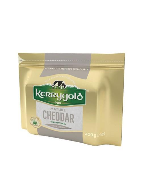 Cheddar Blanco Curado 400Gr KERRYGOLD