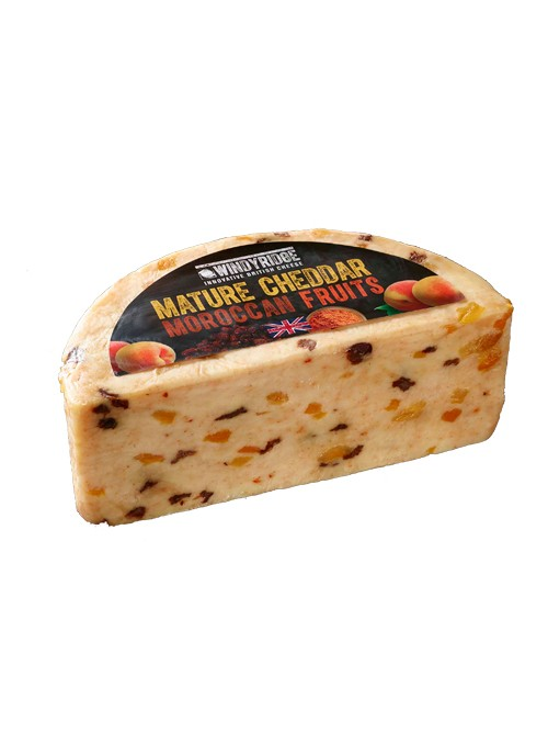 Cheddar Pasas Albaricoque 1/2 WINDYRIDGE