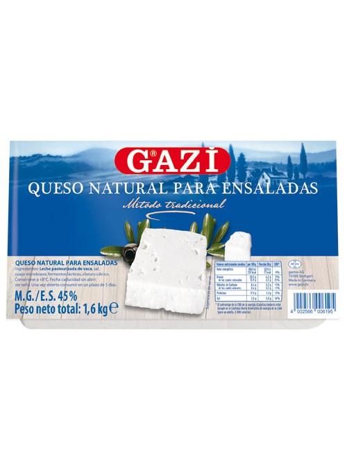 QUESO BARRA ENSALADA GAZI 1.80KGX3