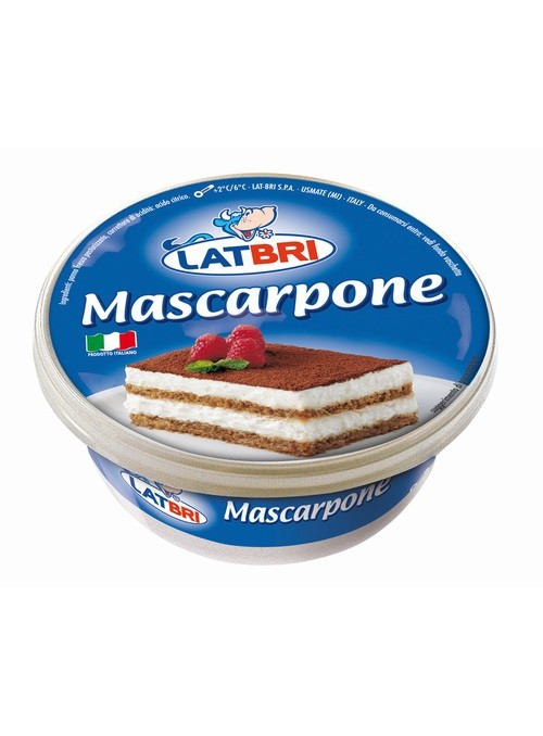 Mascarpone 250Gr LAT-BRI