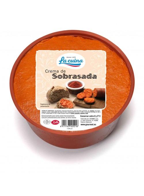 CREMA CASERA SOBRASADA 1.5KG.PICKEN