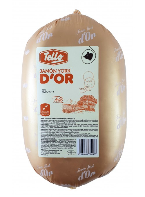Jamón York D'Or Bollo