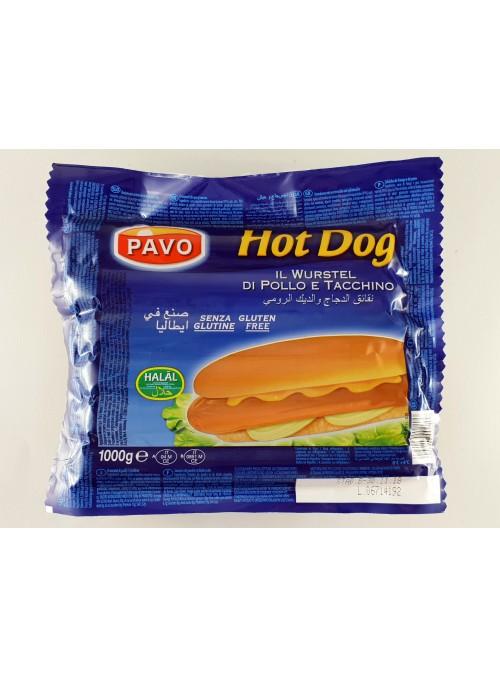 Salchicha Pavo (HALAL) HOT DOG