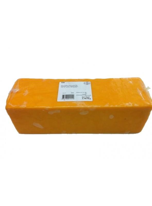Cheddar Rojo Barra 2,5 Kg ALBE