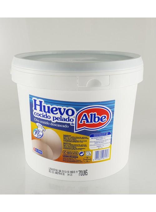Huevo Cocido Tarro 70 Uds. ALBE