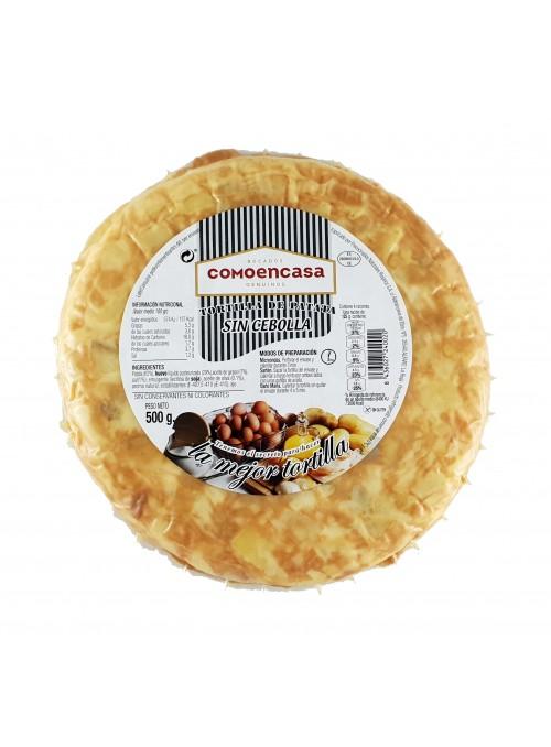 Tortilla de Patatas S/Cebolla 500 Gr