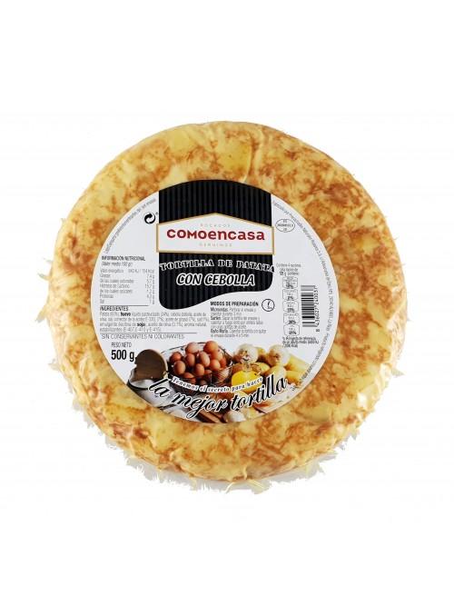 Tortilla de Patatas C/CEBOLLA 500 Gr