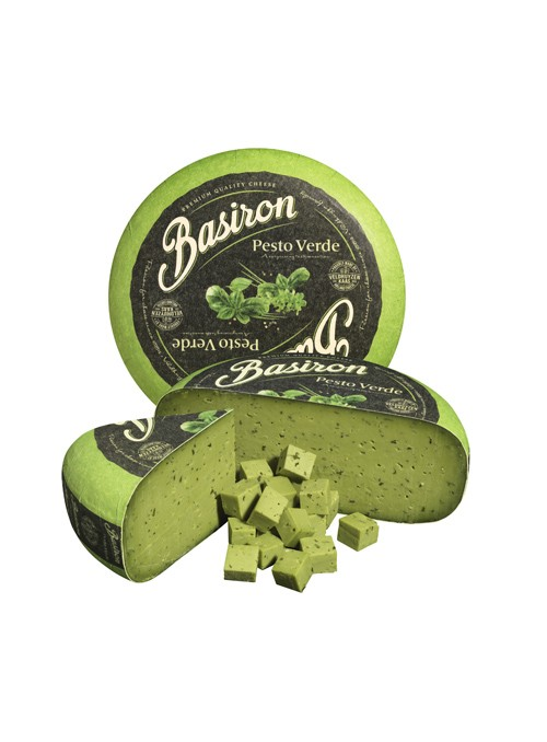 Gouda Pesto Verde Rueda BASIRON