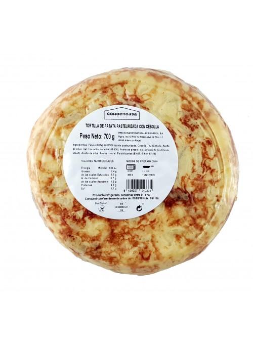 Tortilla de Patatas C/Cebolla 700 Gr
