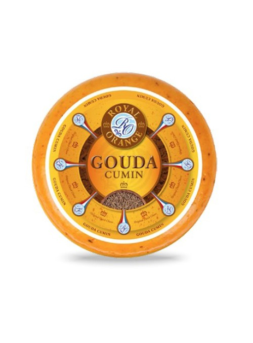 Gouda Rueda con Comino Royal Orange