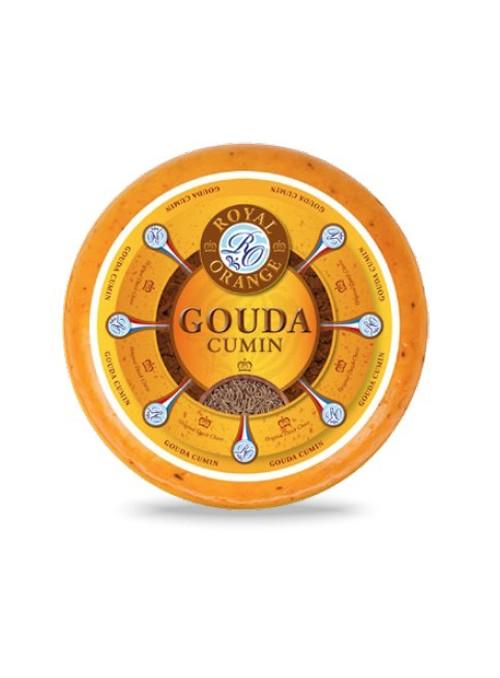 Gouda Rueda con Comino Royal Orange