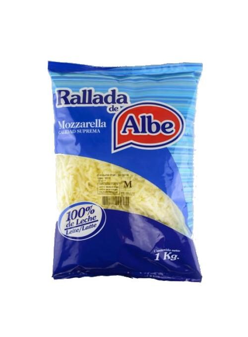 Mozzarella Premium Rallada 1kg Albe