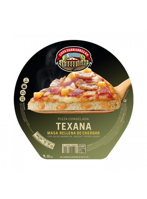 Pizza Rellena Congelada Texana TARRADELLAS