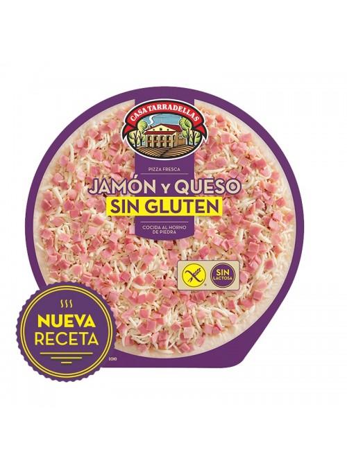 Pizza Jamon y Queso Sin Gluten TARRADELLAS