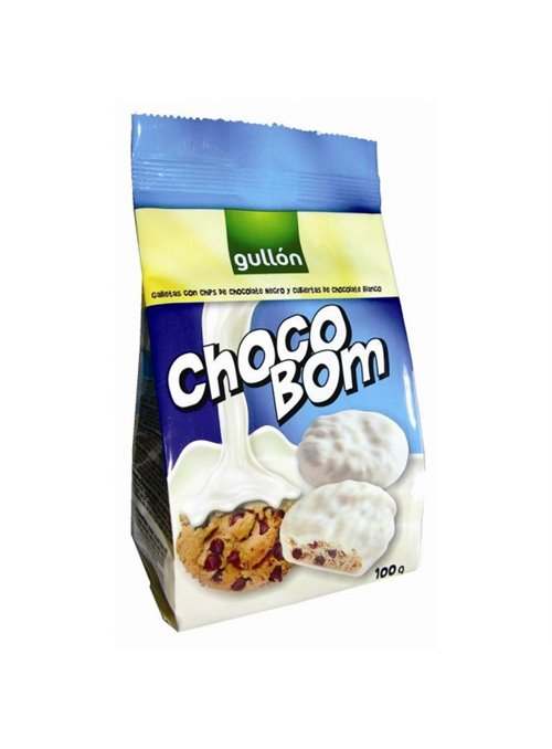 CHOCOBOM BLANCO 100GR.GULLON