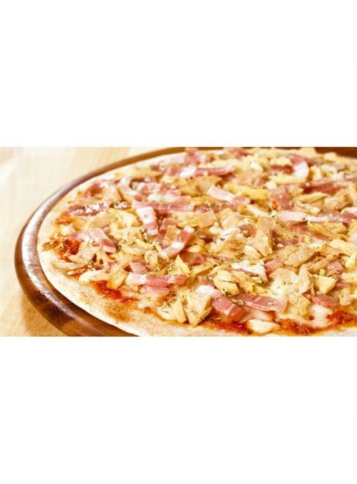PIZZA ATUN Y BACON 8X450GR.