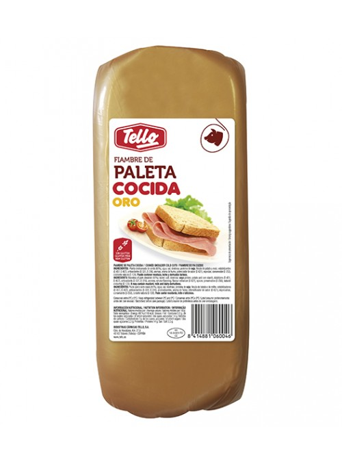 FIAMBRE PALETA ORO 11X11 TELLO