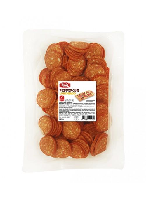 Chorizo Pepperoni Loncheado TELLO