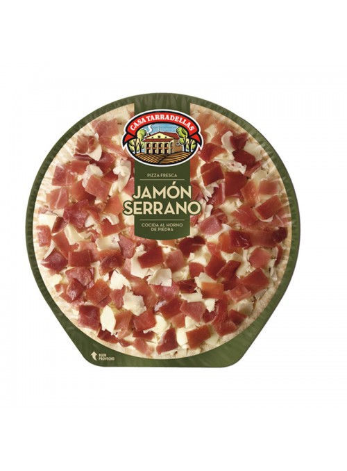 Pizza Jamon Serrano TARRADELLAS