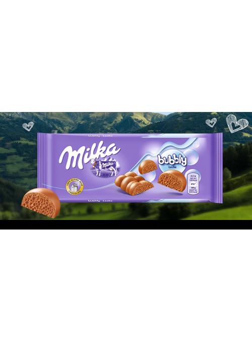 MILKA Luflee Bubbly Milk 90Gr