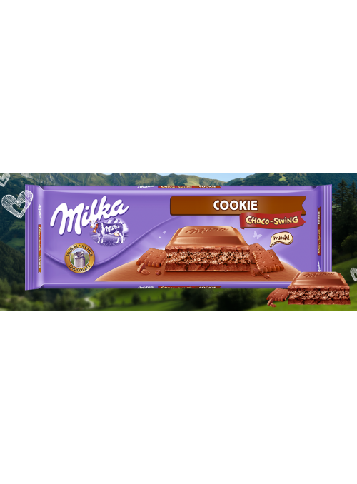 MILKA Chocoswing Cookie 300Gr