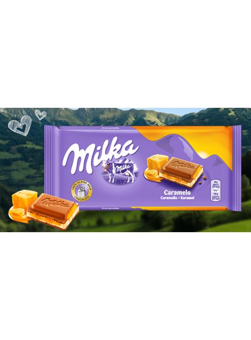 MILKA Caramelo 100Gr