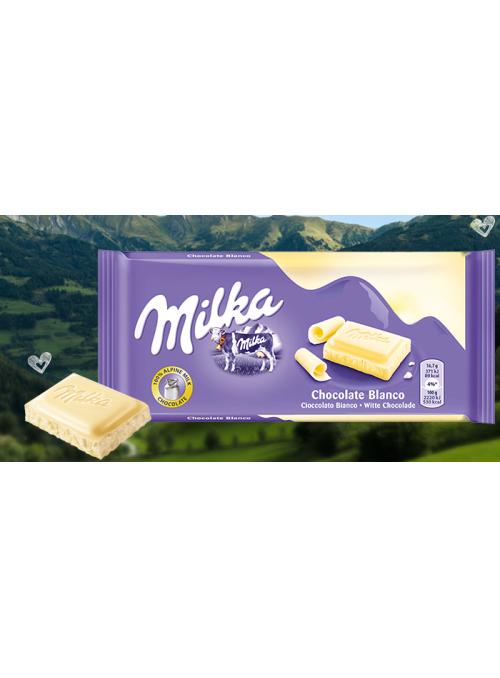 MILKA Blanco 100Gr
