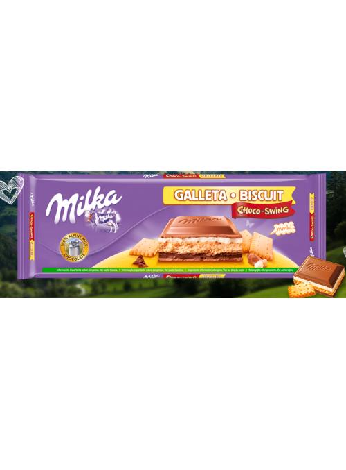Choco Galleta MILKA 300Gr